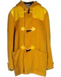 Moschino Coat - Yellow