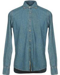 Pence Denim Shirt - Blue
