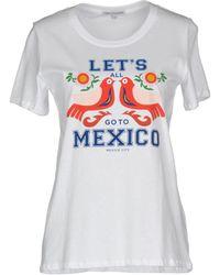 Rebecca Minkoff Camiseta - Blanco