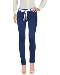 Twin Set Casual Trousers - Blue