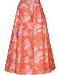 Manish Arora Long Skirt - Orange