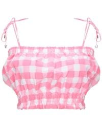 MDS Stripes Top - Pink