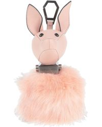 Kendall + Kylie Key Ring - Pink