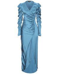 De La Vali Long Dress - Blue