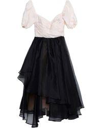 Stella Jean Short Dress - Black