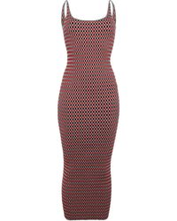 Paco Rabanne 3/4 Length Dress - Red