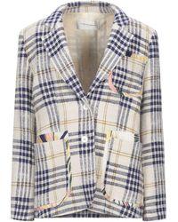 La Prestic Ouiston Suit Jacket - Natural
