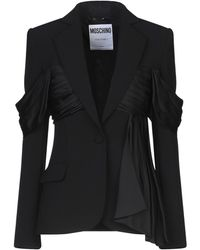 Moschino Suit Jacket - Black