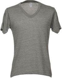 Alternative Apparel Camiseta - Gris