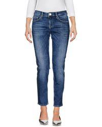 Silvian Heach Denim Trousers - Blue