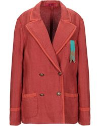 The Gigi Suit Jacket - Red