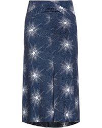 Paco Rabanne 3/4 Length Skirt - Blue