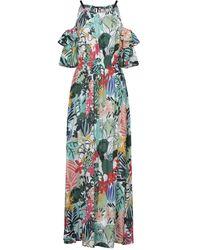 LAB ANNA RACHELE Long Dress - Green