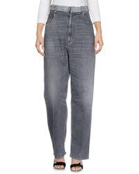 Golden Goose Pantalon en jean - Noir
