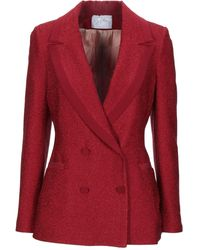 Soallure Suit Jacket - Red