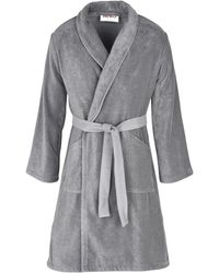 KENZO Towelling Dressing Gown - Grey