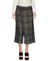 Malloni - 3/4-length Shorts - Lyst