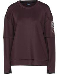 Blauer Sweatshirt - Purple