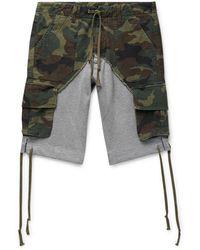 Greg Lauren Shorts & Bermuda Shorts - Multicolour