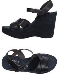 Kork-Ease Sandals - Blue