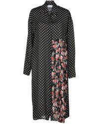 P.A.R.O.S.H. - Knee-length Dress - Lyst