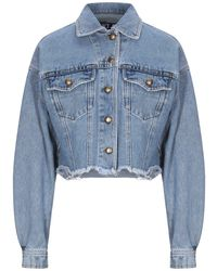 Versace Jeans Couture Denim Outerwear - Blue