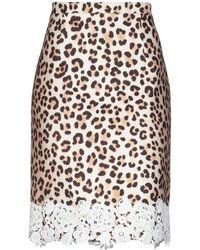 Blumarine Midi Skirt - Natural