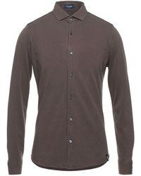 Drumohr Shirt - Brown