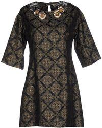Shirtaporter - Short Dress - Lyst