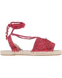 Antik Batik Espadrilles - Red