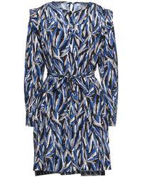 Suncoo Short Dress - Blue