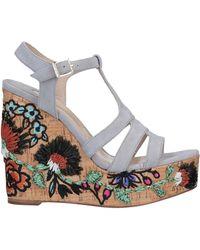 Paloma Barceló Sandals - Gray