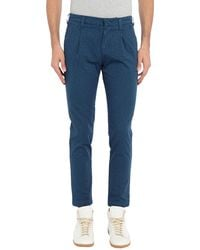 Entre Amis Casual Trousers - Blue