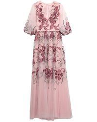 Costarellos Long Dress - Pink
