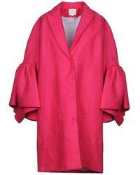 Delpozo Coat - Pink
