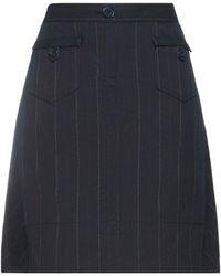 Marc Jacobs Knee Length Skirt - Blue
