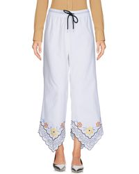 See By Chloé 3/4-length Trousers - White