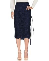 N°21 3/4 Length Skirts - Blue