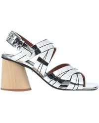 Proenza Schouler Sandals - Metallic