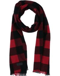 DSquared² - Check Wool Flannel Scarf - Lyst