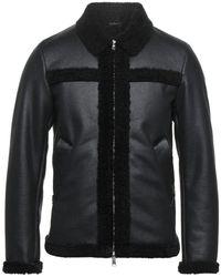 Grey Daniele Alessandrini Jacket - Black