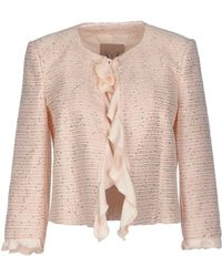 Betty Blue Suit Jacket - Natural