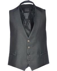 Carlo Pignatelli Waistcoat - Black