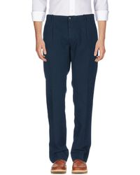 Pence Casual Trouser - Blue