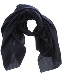 Officine Generale Oblong Scarf - Blue