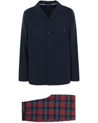 Tommy Hilfiger Pyjama - Blau