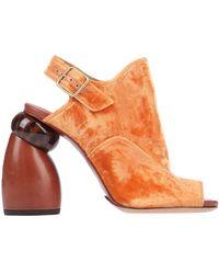 Dries Van Noten Sandals - Orange