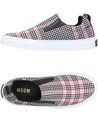 Chaussures De Sport Avec Ruban Msgm x6oPkGhSza