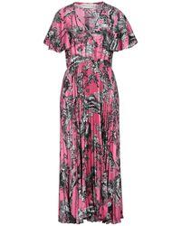 Shirtaporter 3/4 Length Dress - Purple
