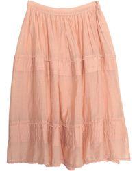 Replay Midi Skirt - Multicolour